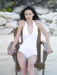 Anna Sbitnaya in a bikini