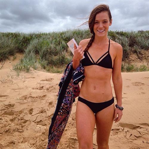 Tanya Poppett in a bikini