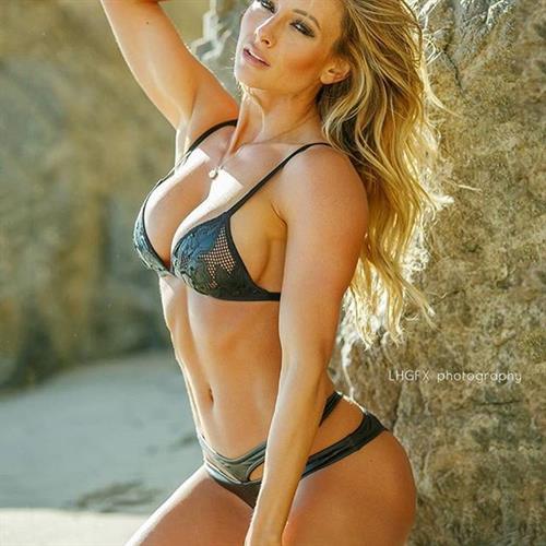 Paige Hathaway in a bikini