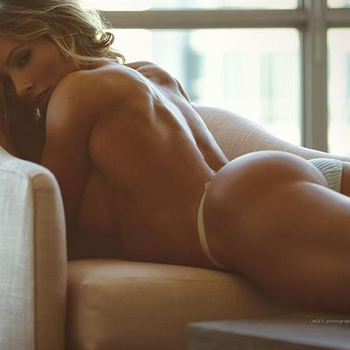 Paige Hathaway in lingerie - ass
