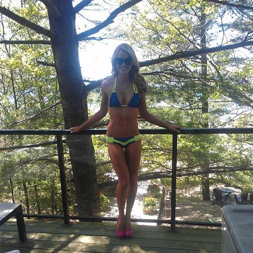 Mackenzie White in a bikini