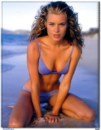 Rebecca Romijn in a bikini