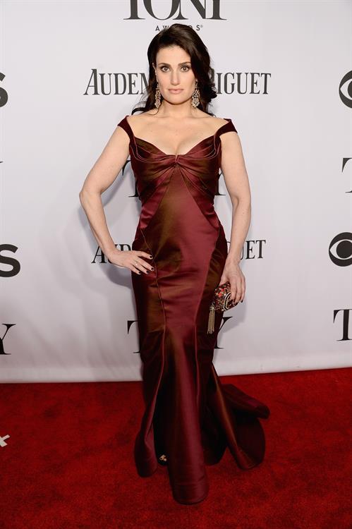 Idina Menzel 68th Annual Tony Awards at Radio City Music Hall June 8, 2014