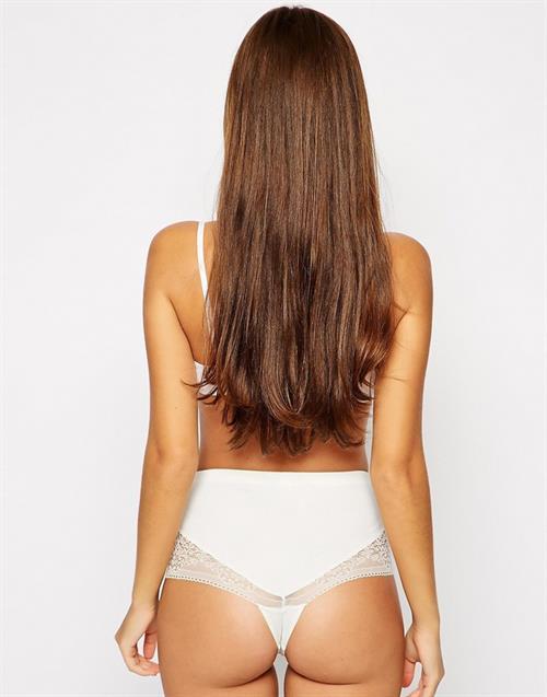 Gabriela Salles in lingerie - ass