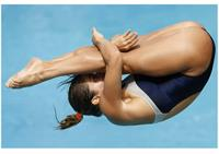 Juliana Veloso was a diver for Brazil in the 2012 London Olympics