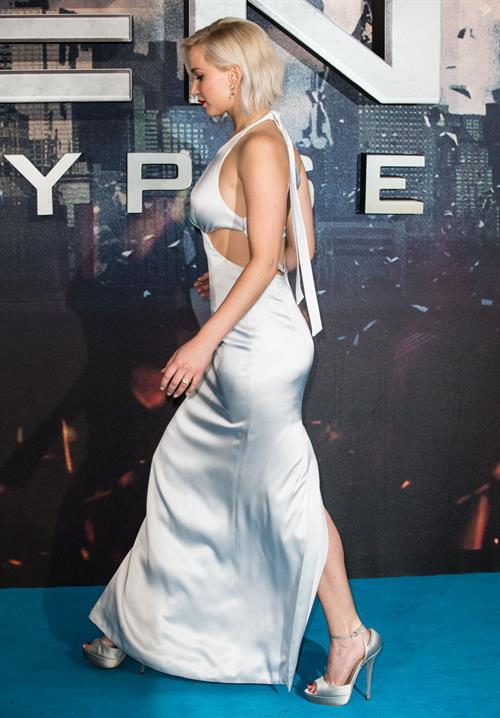 Jennifer Lawrence attending X-Men Apocalypse Premiere in London, United Kingdom on May 9, 2016