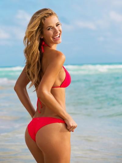 Olivia Jordan in a bikini - ass