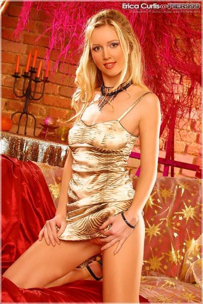 Katerina Valentova in lingerie