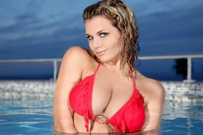 Irene Nell in a bikini