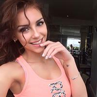 Galina Dubenenko taking a selfie