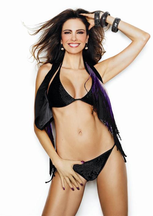 Luciana Gimenez in a bikini