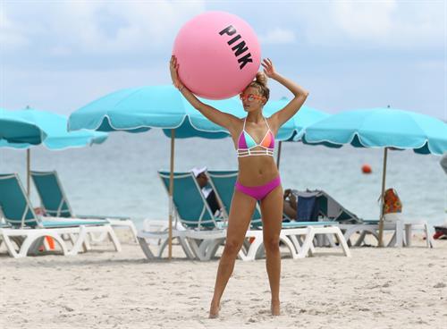 Rachel Hilbert in a bikini