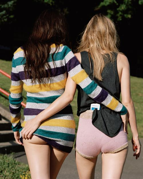 Camille Rowe - ass