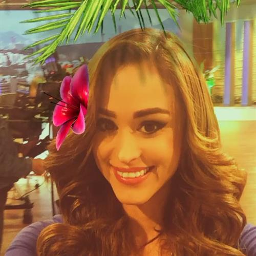 Yanet Garcia taking a selfie