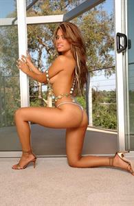 Jessica Burciaga in lingerie - ass