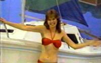 Holly Hallstrom in a bikini