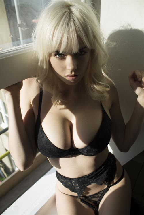 Danielle Sharp in lingerie