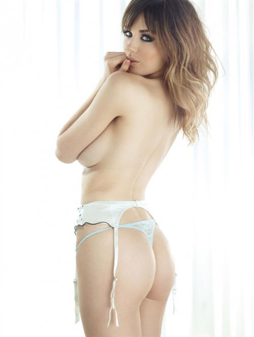 Danielle Sharp in lingerie - ass