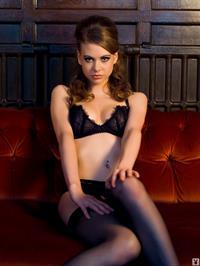Olivia in lingerie