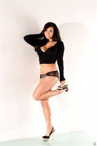 Samantha Buxton in lingerie