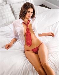 Hope Dworaczyk in lingerie