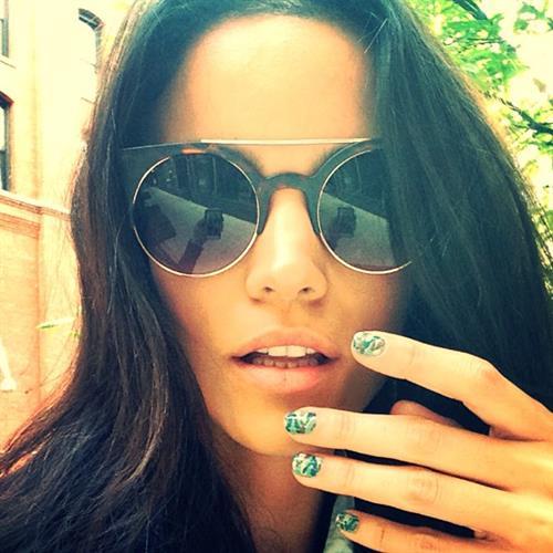 Sofia Resing taking a selfie