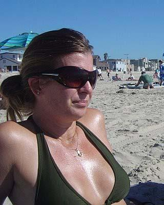 Anonymous in a bikini