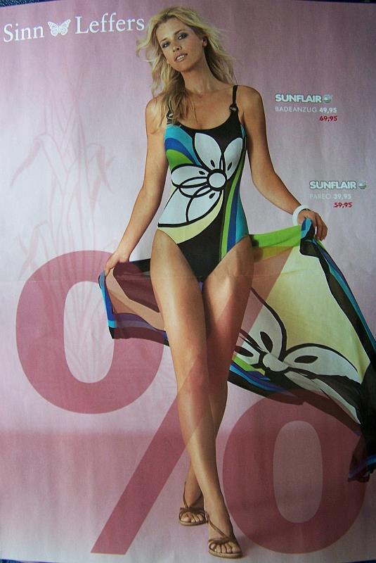 Daniela Pestova in a bikini