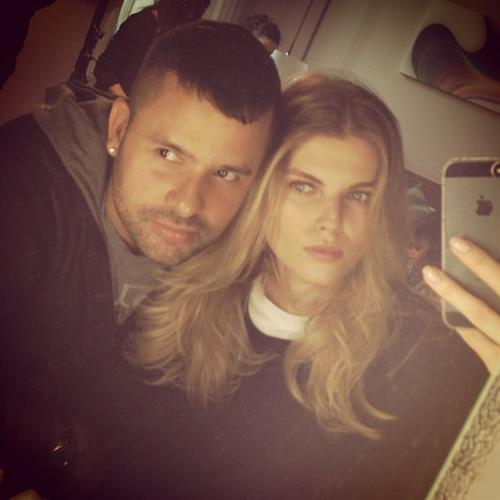 Maryna Linchuk taking a selfie