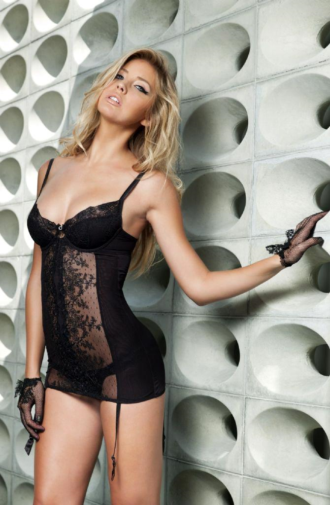 Choice Gray in lingerie