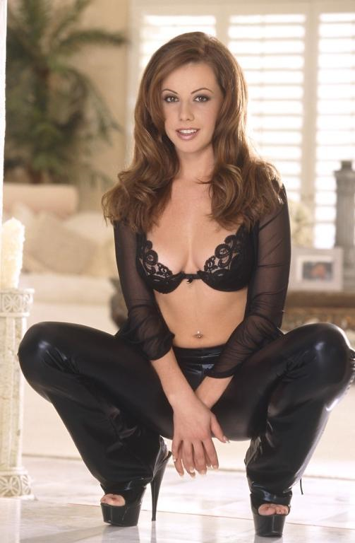 Penny Flame in lingerie