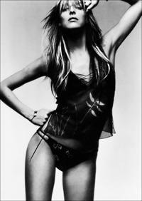Carmen Maria Hillestad in a bikini