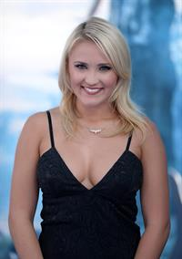 Emily Osment at the premier of Maleficent