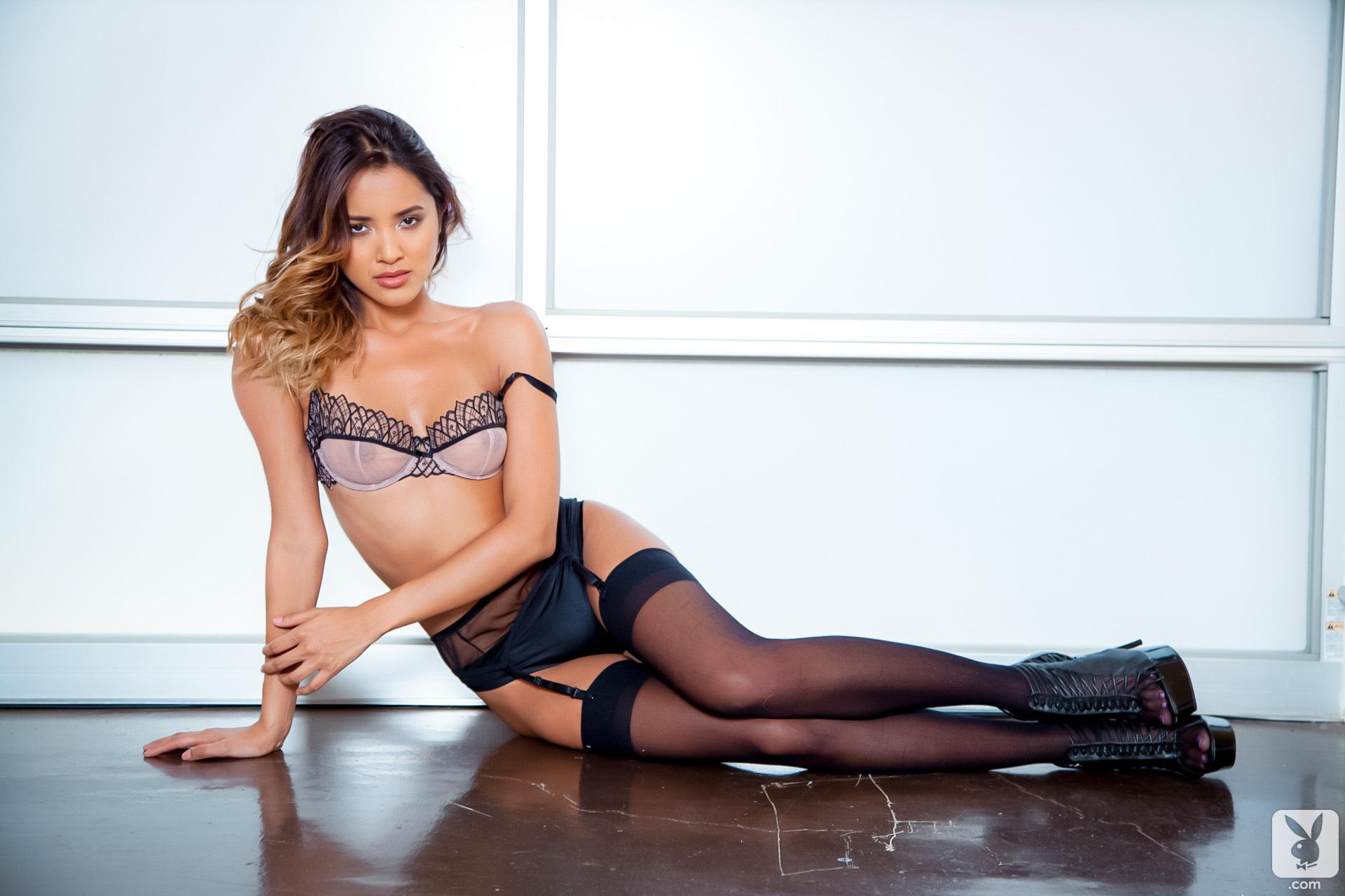 Cassandra Dawn in lingerie