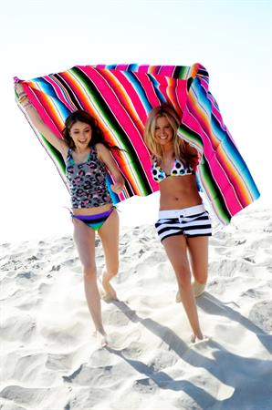 Ashley Tisdale and Sarah Hyland OP Spring Summer Campaign