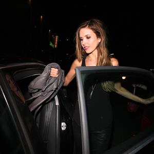 Audrina Patridge at Sayers Nightclub in Hollywood 12/13/12