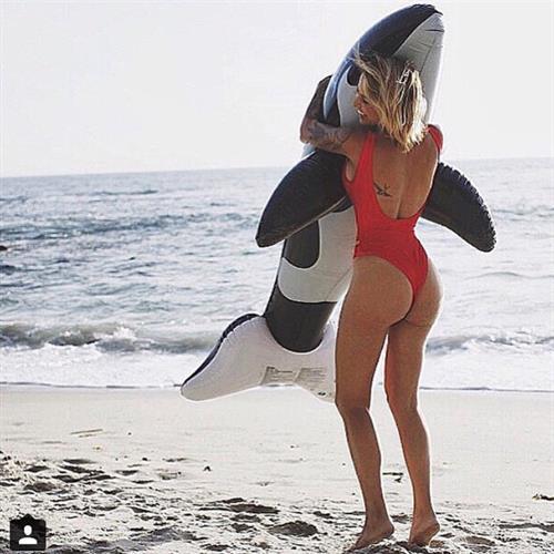 Sara Jean Underwood in a bikini - ass