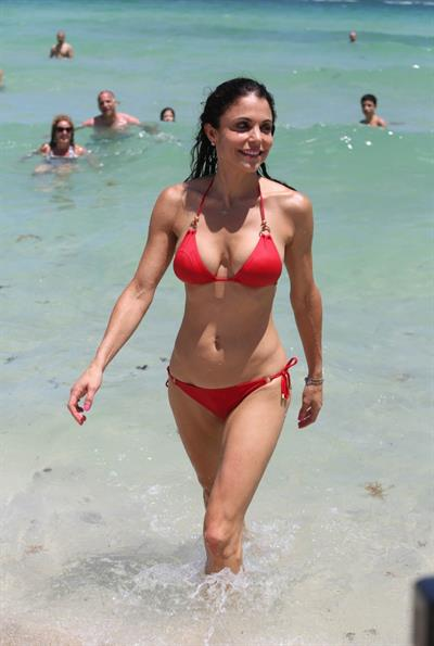 Bethenny Frankel in a bikini
