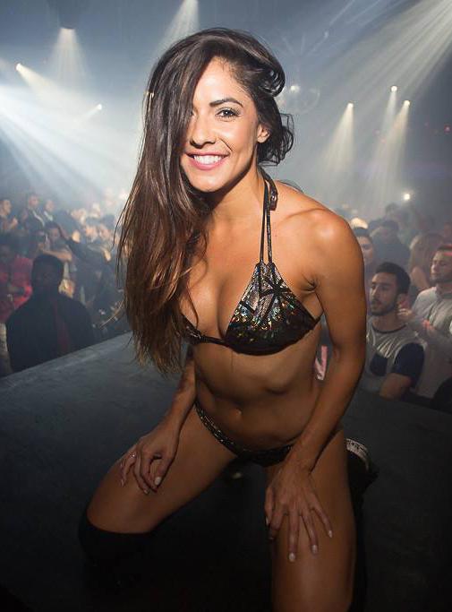 Marlina Moreno in a bikini