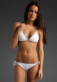Chelsea Gilligan in a bikini