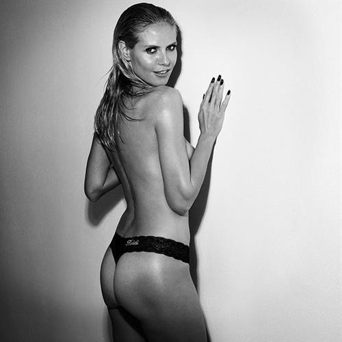 Heidi Klum in lingerie - ass