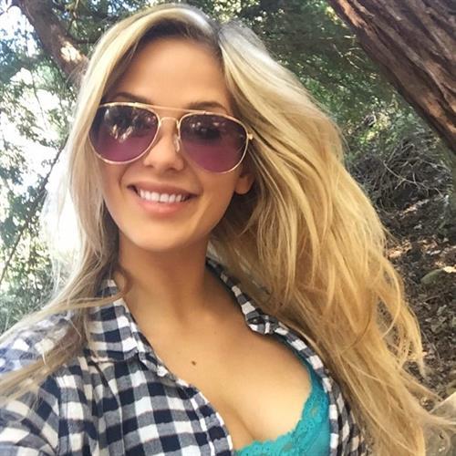 Audrey Allen taking a selfie