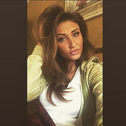 Megan McKenna taking a selfie