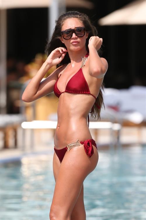 Megan McKenna in a bikini