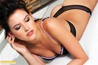 Daniela Pinedo in lingerie - ass
