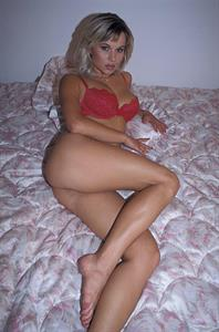 Meridian in lingerie