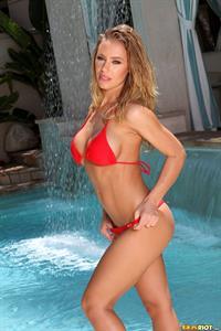 Nicole Aniston in a bikini