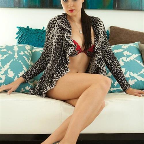 Natasha Belle in lingerie