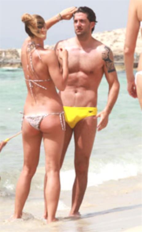 Francesca Piccinini in a bikini - ass