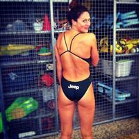 Stephanie Rice in a bikini - ass
